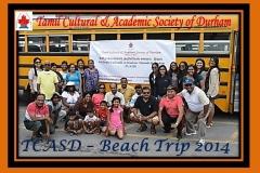 TCASD Beach Trip group 2014